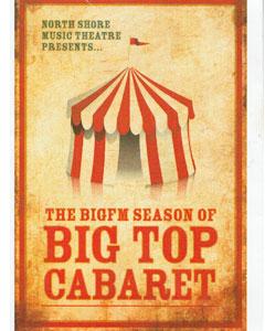 Big Top Cabaret - 2010