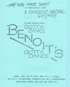Gotta Sing, Gotta Dance - 1986