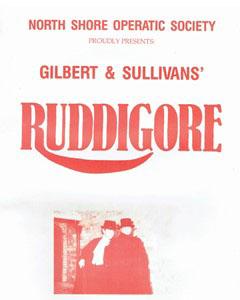 Ruddigore - 1986